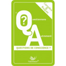 Coffret pédagogique: Cannabis&Risques: Questions de conscience?