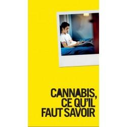 Cannabis, ce qu'il faut savoir - Edition 2016