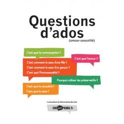 Questions d'ados - Actualisé en 2015