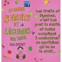 Fiche Conseil 1 - Au moins 5 fruits et légumes par jour sans effort (Dépliant)