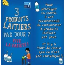 Fiche Conseil 4 - 3 produits laitiers par jour ? Vive la variété !