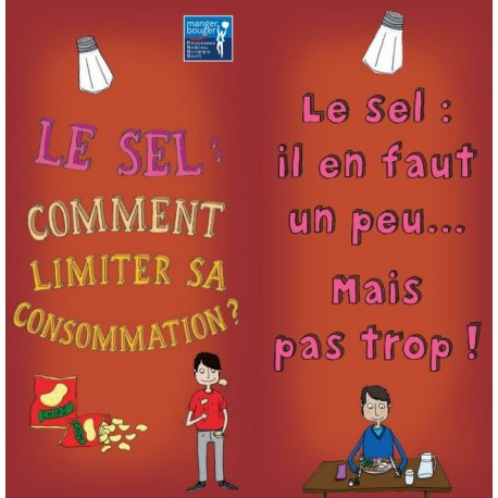 Fiche Conseil 5 - Le sel : comment limiter sa consommation ?