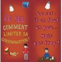 Fiche Conseil 5 - Le sel : comment limiter sa consommation ? (Dépliant)