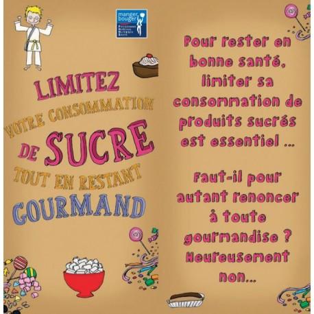 Fiche Conseil 6 - Limitez votre consommation de sucre tout en restant gourmand