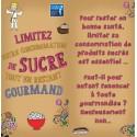 Fiche Conseil 6 - Limitez votre consommation de sucre tout en restant gourmand (Dépliant)