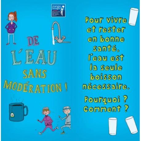 Fiche Conseil 8 - De l'eau sans modération !
