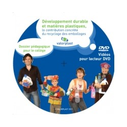 Développement durable et Matières plastiques, la contribution concrète du recyclage des emballages(DVD)