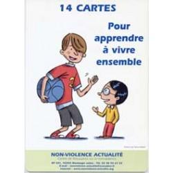 14 cartes Pour aprendre à vivre ensemble