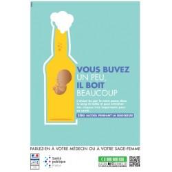Vous buvez un peu, il boit beaucoup Zéro alcool pendant la grossesse ( bière)