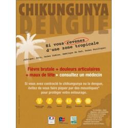 Chikungunya Dengue si vous revenez d'une zone tropicale