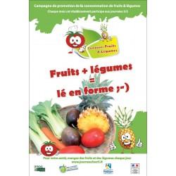 Fruits plus légumes  Lé en forme