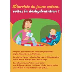 Diarrhée du jeune enfant, éviter la déshydratation ! (Dépliant)