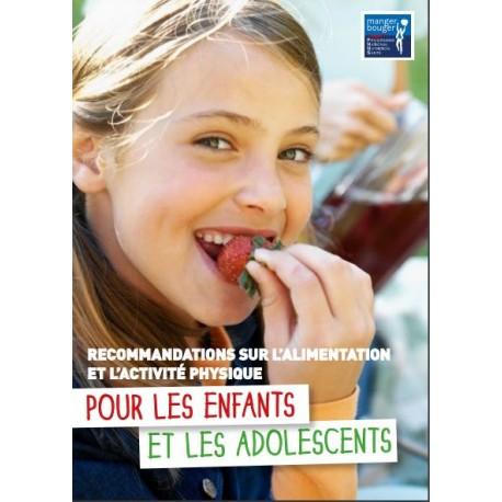 [BROCHURE] Recommandations sur l'alimentation et l'activité physique pour les enfants et les adolescents