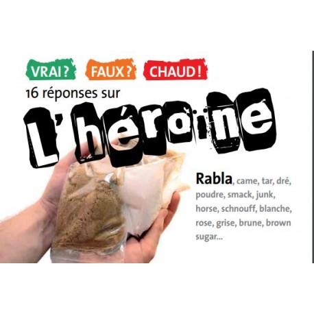 [BROCHURE] 16 réponses sur l'héroïne