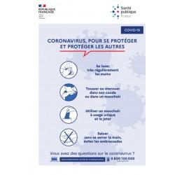 Face au CORONAVIRUS : Pour se  protéger et protéger les autres