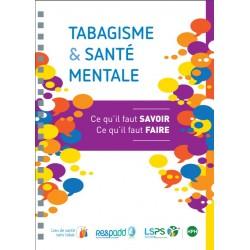 Un guide sur le tabagisme et la santé mentale adressé aux professionnels de santé