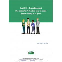 Déconfinement - Des supports d'éducation pour la santé pour le collège et le lycée