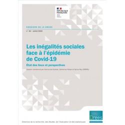 Les inégalités sociales face à l'épidémie de Covid-19. État des lieux et perspectives