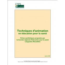 Techniques d'animation en éducation pour la santé.
