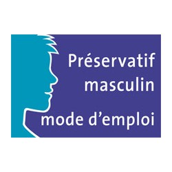 Mode d'emploi du préservatif masculin