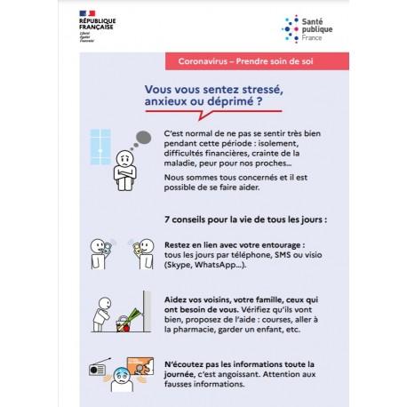 Coronavirus : Comment prendre soin de soi ?