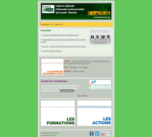 Newsletter IREPS Réunion