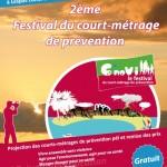 2ème édition du Festival du court-métrage de prévention C'NOVI le 31 mai 2013