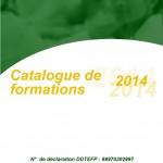 Sortie du Catalogue de formation 2014