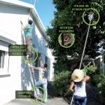 Chutes du haut des arbres et des toits : quelques gestes de sécurité suffisent pour les éviter