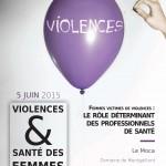 Colloque sur le thème : Violences et santé des femmes, le 5 juin 2015 à la Réunion