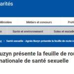[DGS] Agnès Buzyn présente la feuille de route à trois ans de mise en œuvre de la stratégie nationale de santé sexuelle