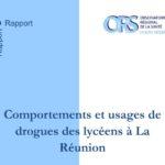 [ORS OI] Comportements et usages de drogues des lycéens à La Réunion