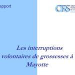 [ORS OI] Les interruptions volontaires de grossesses à Mayotte