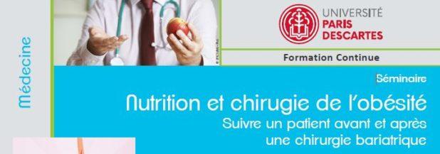 Capture seminaire nutrition chirurgie obésité