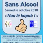 [6 octobre 2018] Journée Sans Alcool & Marche Blanche