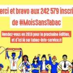 [SPF] Record de participation pour la 3ème édition de #MoisSansTabac