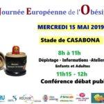 [15 mai 2019] Journée Européenne de l'Obésité