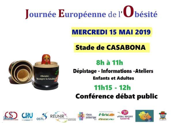 Affiche Journée Européenne de l'Obésité 2019