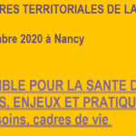 [16-17 septembre 2020] Rencontres Territoriales Santé publique : appel à communication pour les collectivités (CNFPT)